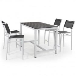 """Комплект мебели для бара """"Leone"""" из алюминия"""
