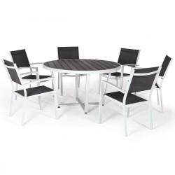 """Комплект мебели """"Leone"""" из алюминия (с круглым столом)"""