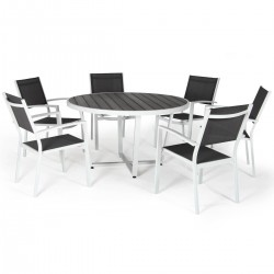 "Комплект мебели ""Leone"" из алюминия"