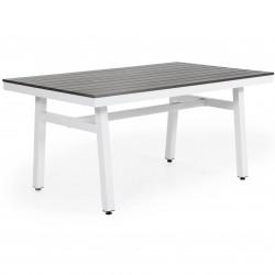 "Стол ""Bergerac"" 140х90 из алюминия"