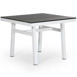 "Стол ""Bergerac"" 90х90 из алюминия"