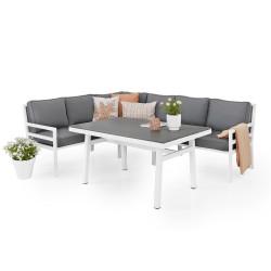 """Комплект мебели """"Bergerac"""" из алюминия"""
