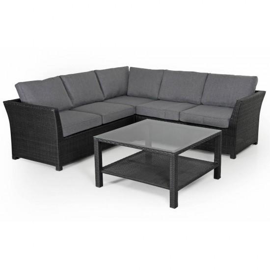 "Плетеная мебель ""Madison black"""