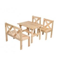 """Комплект мебели """"Milla"""" из сосны"""