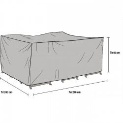 Чехол для мебели 270х200