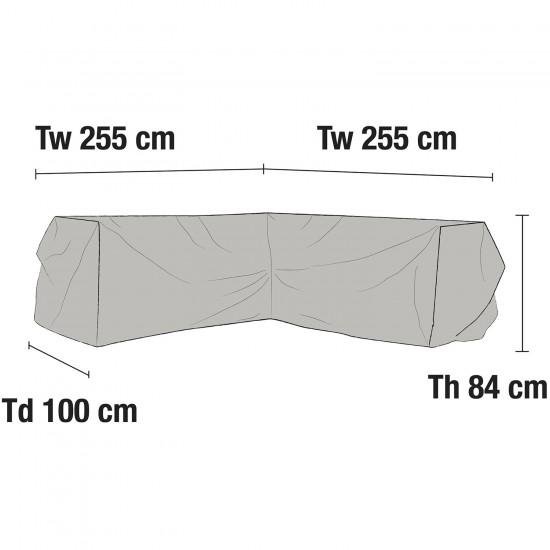 Чехол для углового дивана 255х255