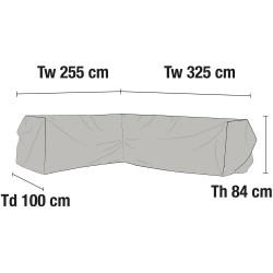 Чехол для углового дивана 325х255