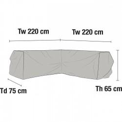 Чехол для углового дивана 220х220