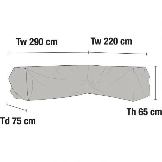 Чехол для углового дивана 220х290