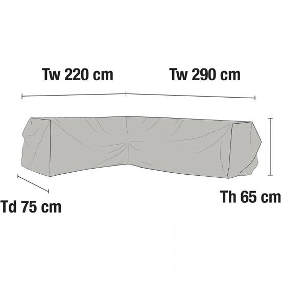 Чехол для углового дивана 290х220