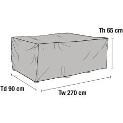 Чехол для мебели 270х90
