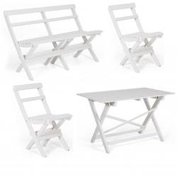 "Комплект  мебели ""Gammeldags"" white из сосны"