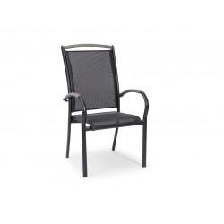 """Кресло """"Nydala"""" black из алюминия"""