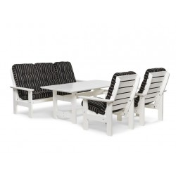 """Комплект мебели """"Herrgard"""" white из сосны"""
