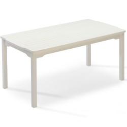 """Стол из сосны """"Visby"""" white 150х85 см"""