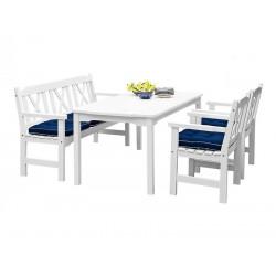 """Комплект мебели """"Visby"""" white из сосны"""