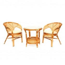 """Комплект мебели """"Пеланги"""" cognac"""