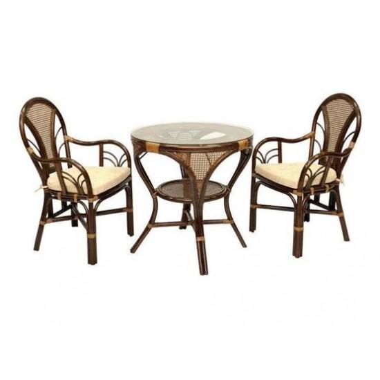Мебель из натурального ротанга La Mokko brown