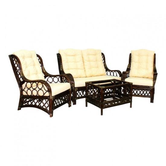 Мебель из ротанга Palermo New brown