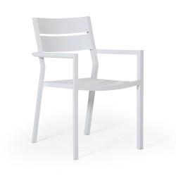 """Кресло """"Delia"""" из алюминия"""