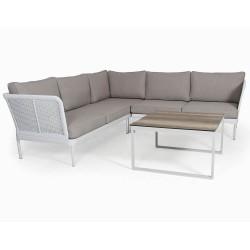 """Плетеная мебель """"Ajaccio"""" white/beige"""