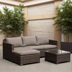 """Плетеная мебель """"AFM-4025B Brown"""""""