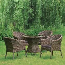 "Плетеная мебель ""RT-A52 Brown 4Pcs"""