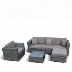 """Комплект плетеной мебели """"AF1023"""" grey"""