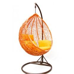 """Подвесное кресло кокон """"KM-0001"""" small orange"""