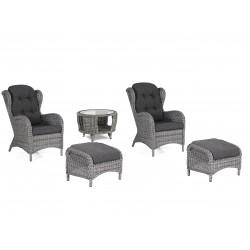 """Плетеная мебель """"Evita grey"""""""