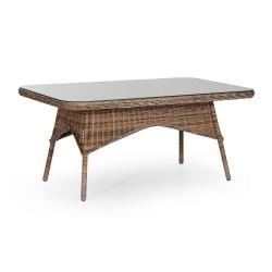 "Обеденный стол ""Evita"" mixed brown 150х90см"