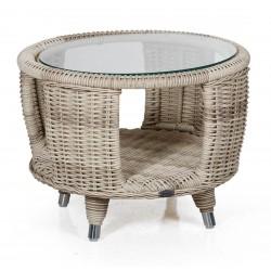 "Кофейный стол ""Evita"" beige  Ø60см"
