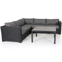"Комплект плетеной мебели ""Ninja black & Rodez"""