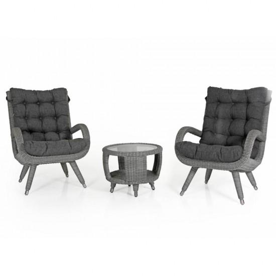 """Мебель из ротанга """"Silva"""" grey"""