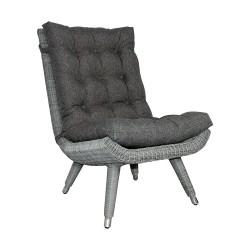 """Кресло """"Silva"""" grey без подлокотников"""
