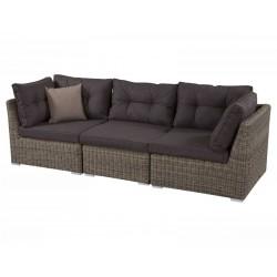 """Плетная мебель """"Leon natur"""", модульный диван"""