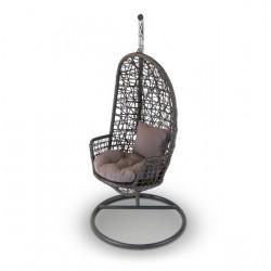 """Плетеное подвесное кресло кокон """"Венеция"""""""
