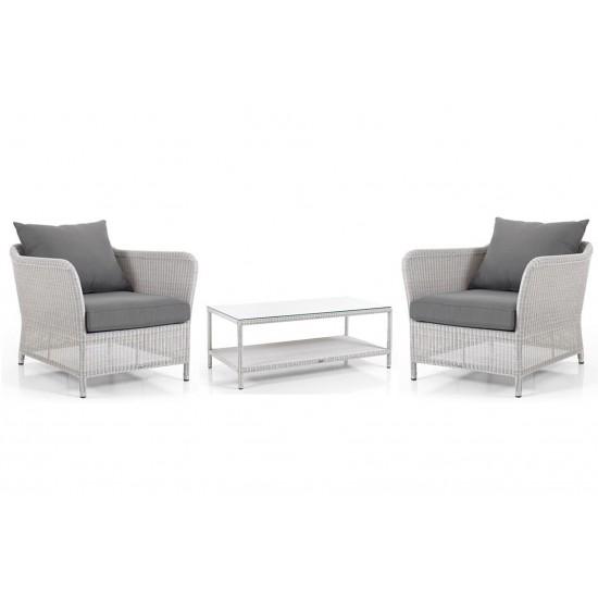 """Плетеная мебель """"Loria"""" white"""