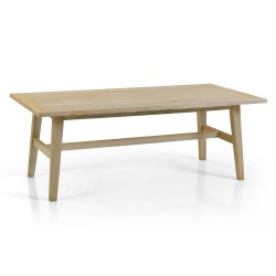 "Кофейный стол из тика  ""Vidos"" 130 см"