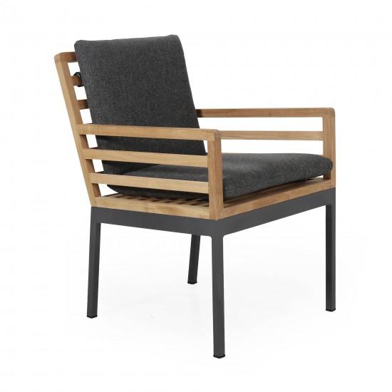 """Кресло обеденное из тика """"Zalongo"""""""