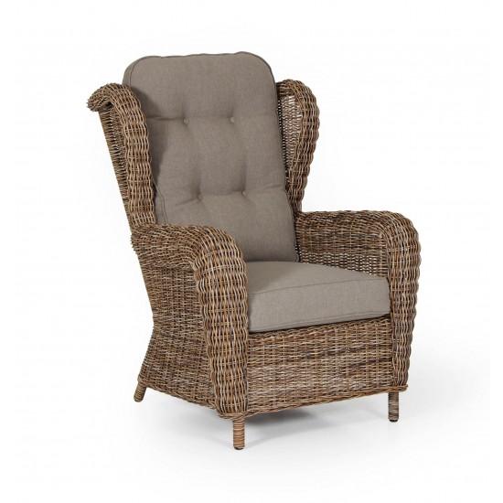 """Ротанговое кресло """"Catherine"""" relax brown"""