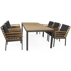 "Мебель из тика ""Zalongo"", обеденная группа"