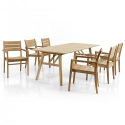 "Комплект мебели из тика ""Chios"""