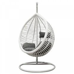 """Подвесное кресло кокон """"KM-0021"""" white medium"""