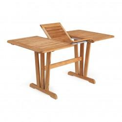 "Обеденный стол из тика ""Cornelia"" 185 см"