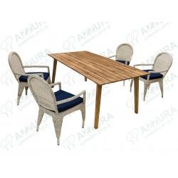 """Плетеная мебель """"Haga&Andorra"""""""