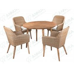 """Плетеная мебель """"Coco&Polaris"""""""