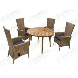 """Плетеная мебель """"Capri Natur&Polaris"""""""