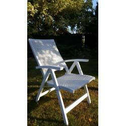 Кресло плетеное «Dream» white
