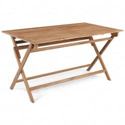 """Стол из тика """"Turin"""", прямоугольный, 140*80 см"""